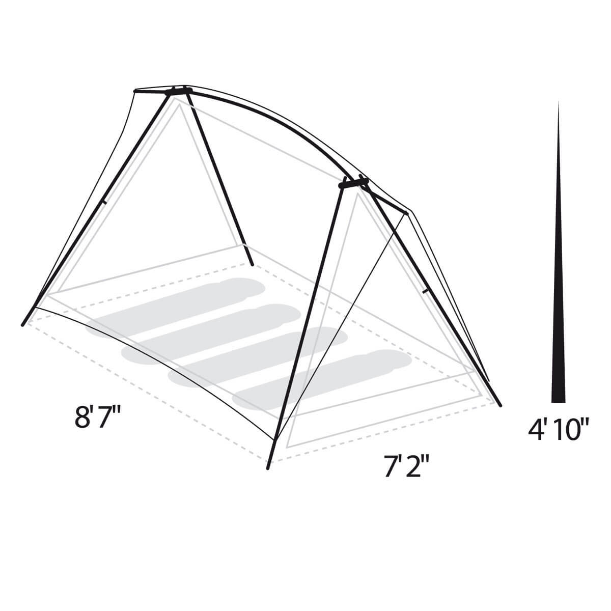 Timberline® 4 Person Tent