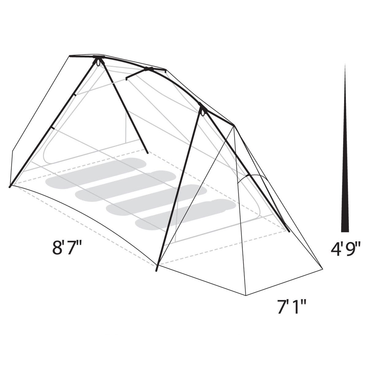 1  sc 1 st  Tents - Johnson Outdoors & Timberline® SQ 4XT 4 Person Tent | Eureka!