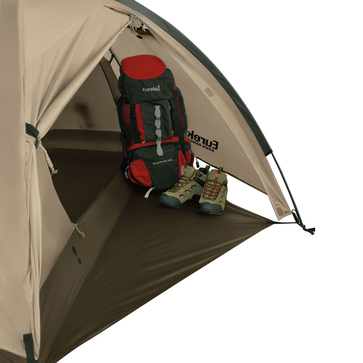 Down Range Solo 1 Person Tent. Vestibule area with floor Storage Pockets  sc 1 st  Tents - Johnson Outdoors & Down Range Solo 1 Person Tent | Eureka!