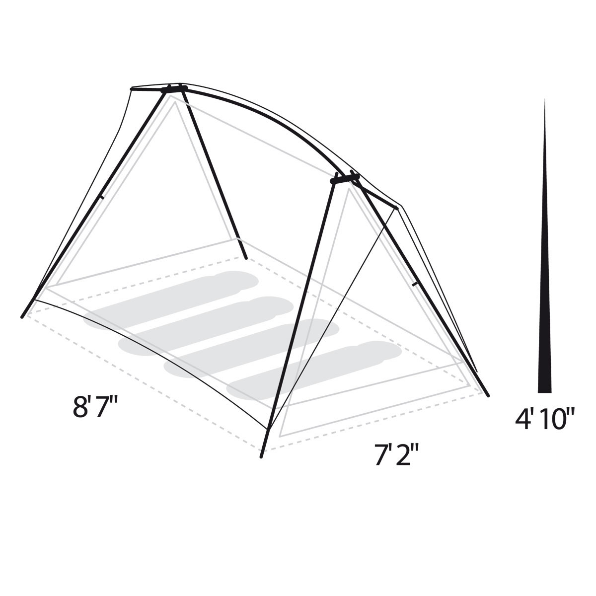 Timberline® 4 Person Tent. 1  sc 1 st  Tents | Eureka! - Johnson Outdoors & Timberline® 4 Person Tent | Eureka!