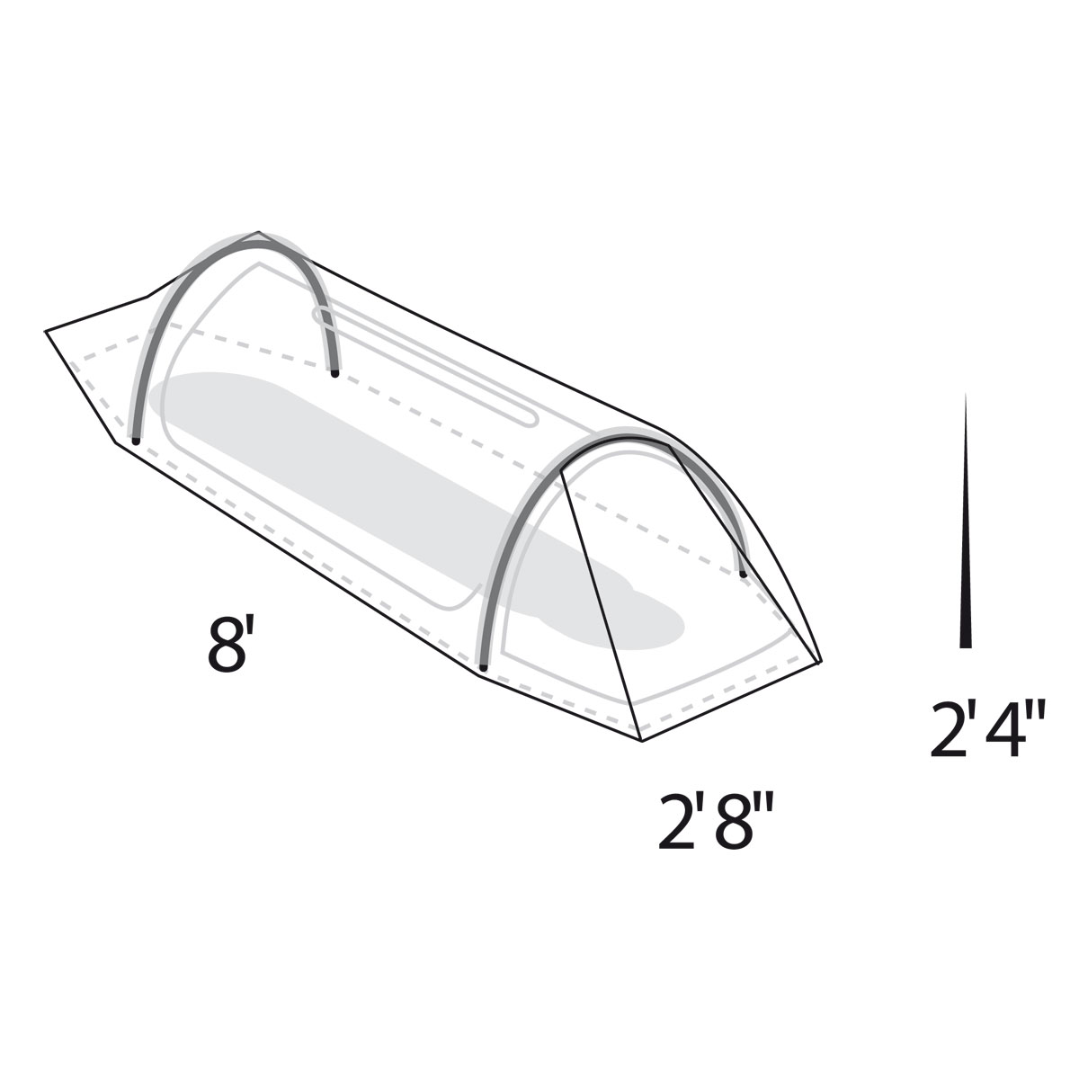 Solitaire 1 Person Tent. 1  sc 1 st  Tents | Eureka! - Johnson Outdoors & Solitaire 1 Person Tent | Eureka!