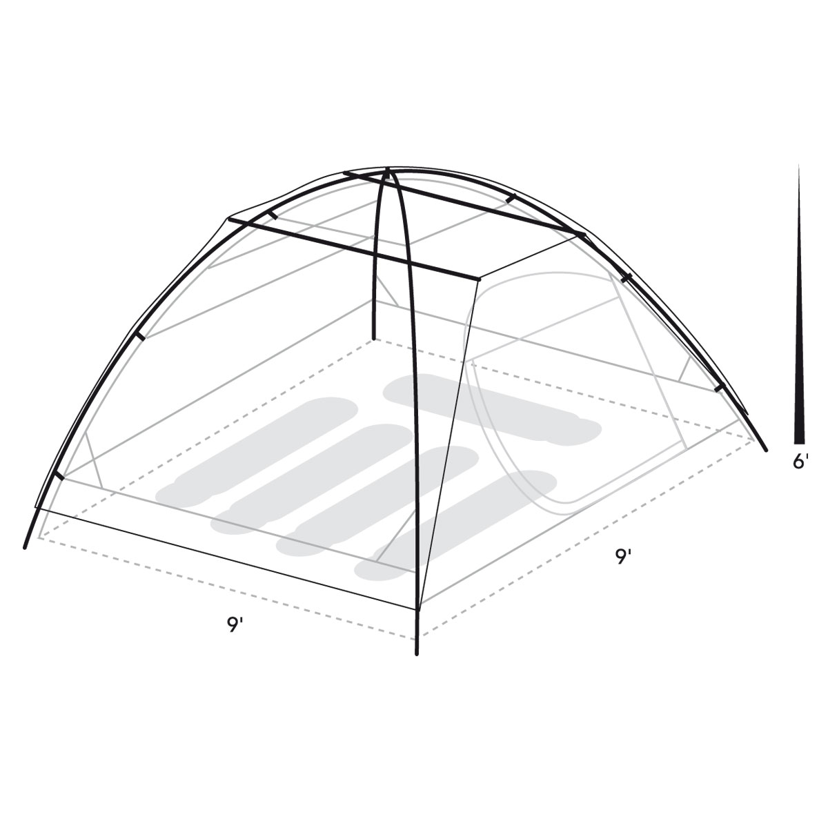 Find in store  sc 1 st  Tents | Eureka! - Johnson Outdoors & Tetragon HD 5 Person Tent | Eureka!