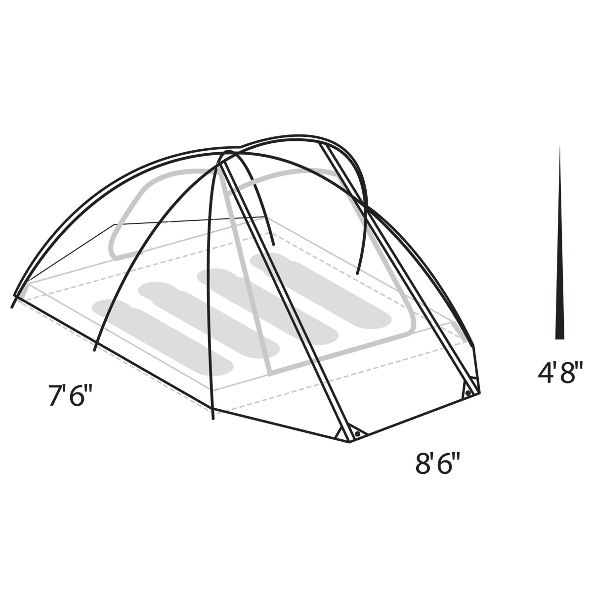 1  sc 1 st  Tents - Johnson Outdoors & Assault Outfitter 4 Person Tent | Eureka!